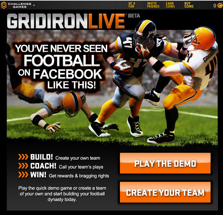 Gridiron Live on Facebook