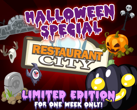 Restaurant City Halloween Limited Items