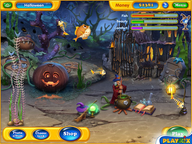 the basic match3 game experience however remains unchanged play the game to earn cash then use that to buy roughly 100 spooky items and
