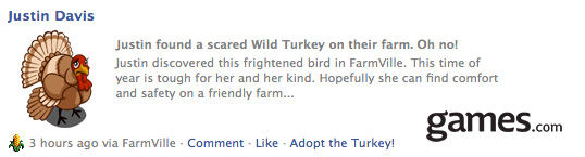 farmville wild turkey