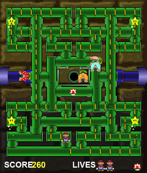 play free mario games pipe panic
