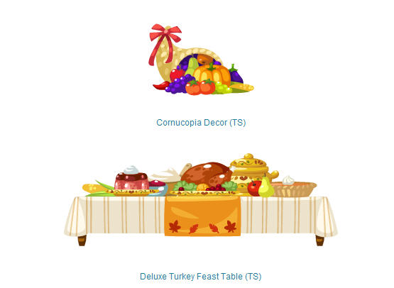 pet society thansgiving cornucopia