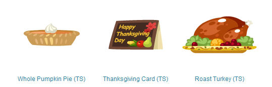 pet society thanksgiving whole pumpkin pie, thanksgiving card