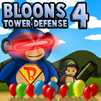 Free Online Bloons Tower Defense 4