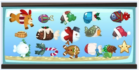 pet society holiday fish