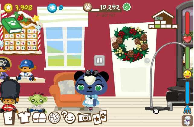 pet society on facebook from playfish