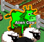 FarmVille Alien Cow