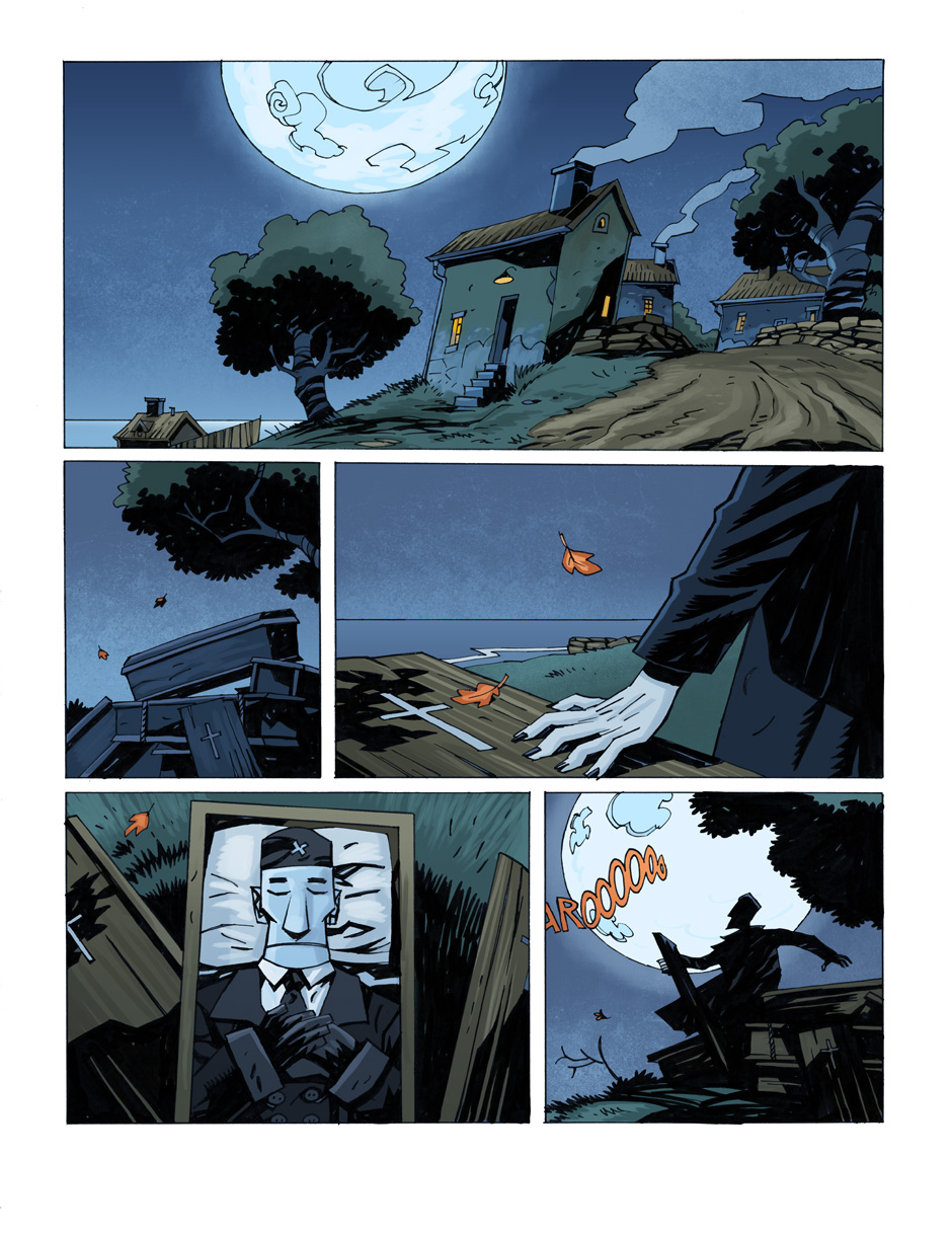 battlefield heroes vampires and werewolves comic strip