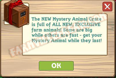 farmville animal mystery box 1 notice