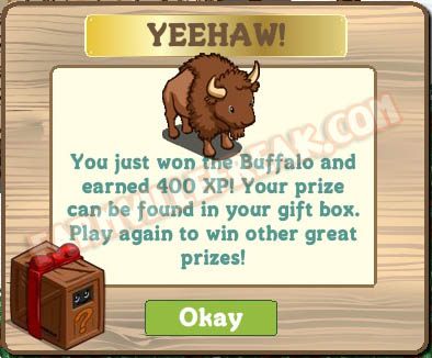 farmville animal mystery box buffalo