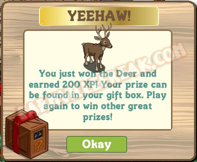 farmville animal mystery box deer
