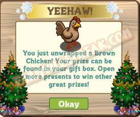 farmville brown chicken unwrapped