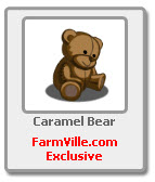 farmville caramel bear