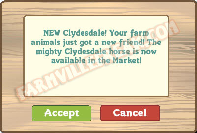 farmville clydesdale notice