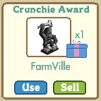 farmville crunchie award