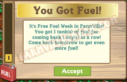 farmville fuel week continues