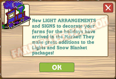 FarmVille Light Arrangements Announcement
