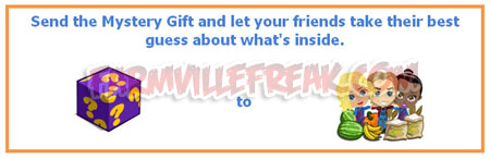 farmville mystery gift facebook message