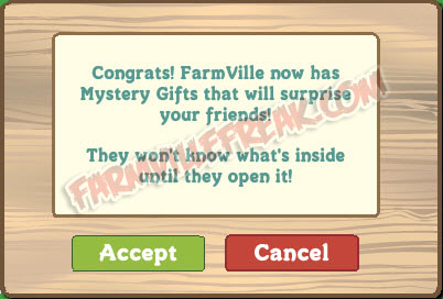 farmville mystery gift notice