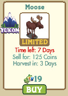 farmville yukon moose