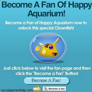 happy aquarium fan fish clownfish