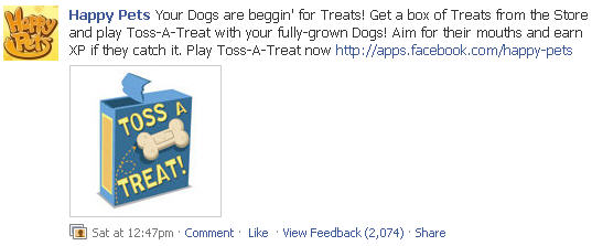 happy pets new toss a treat dog treats