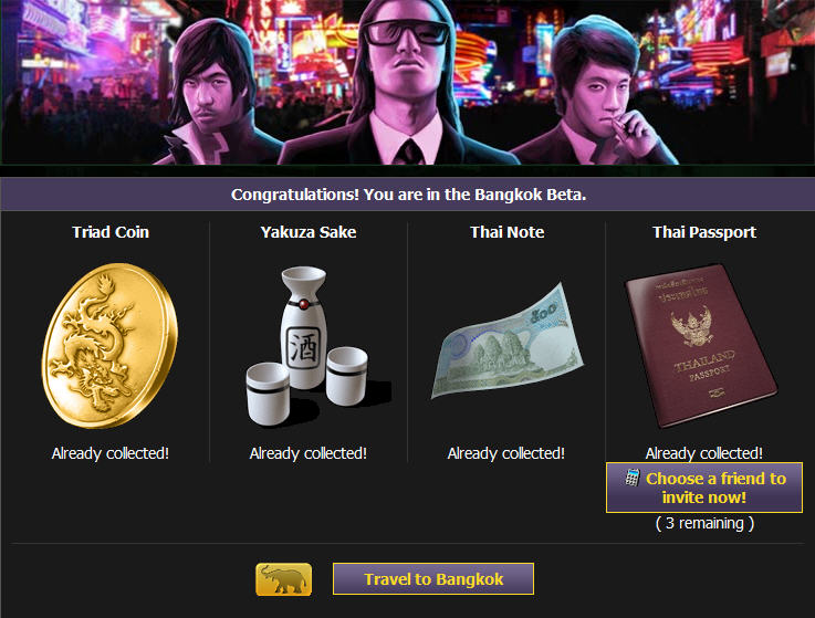mafia wars bangkok unlocked -- win early access at games.com