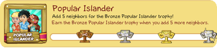 Tiki Farm Trophy 5 - Popular Islander