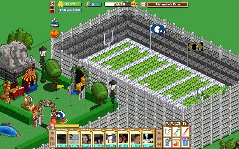 Farmville Freak Alejandro's Super Bowl Stadium
