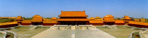 Forbidden City Gate in China