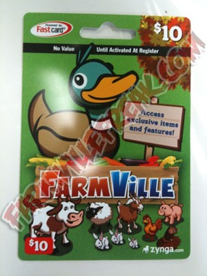 farmville cash cards available at Gamestop