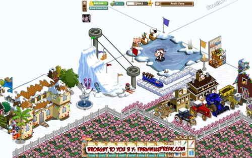 FarmVille Freak Hello's Winter Olympic Set Zoomed In
