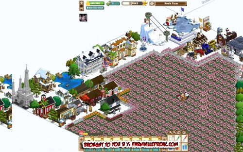 FarmVille Freak Hello's Winter Olympic Set Zoomed Out
