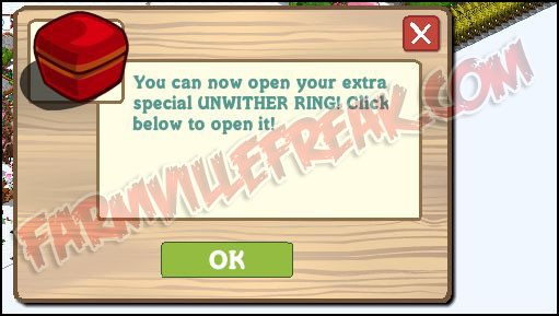 farmville unwither ring glitch