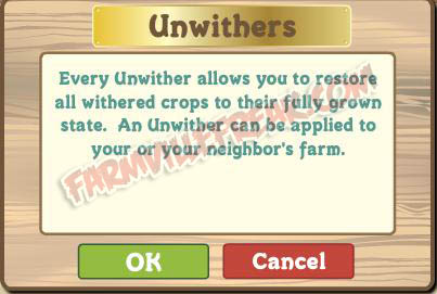 farmville unwithers