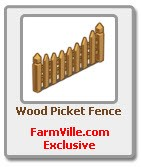 farmville wood picket fence