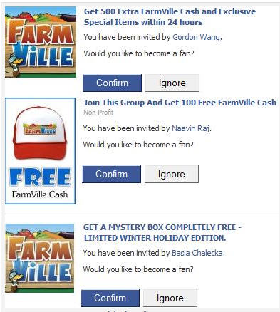 farmville free scam offers