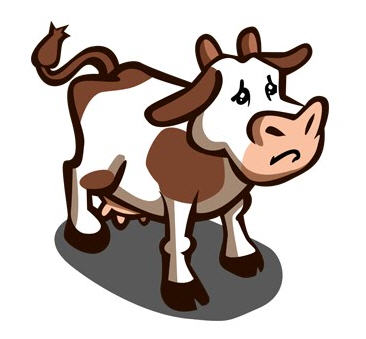 farmville sad cow -- podcast delayed until friday, feb 12