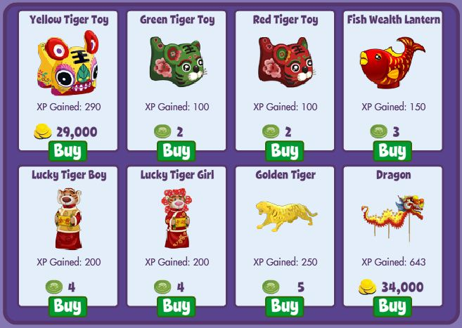 fishville chinese new  year items