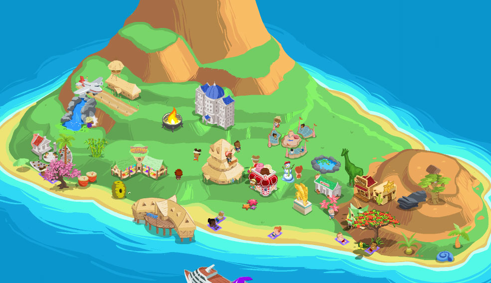 Happy Island Gets Epic Olympic Goodies
