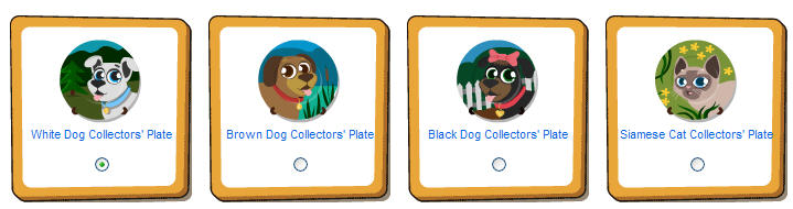 happy pets dog and cat collector's plates