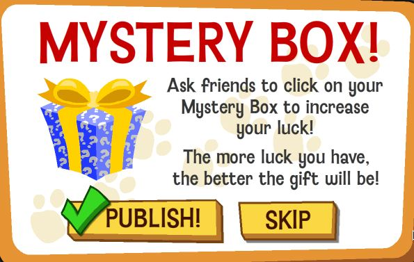 happy pets mystery box with luck!