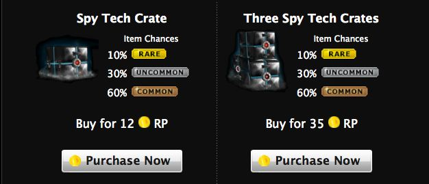 mafia wars spy tech crates arrive -- again -- in mafia wars