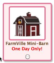 petvlle farmville mini barn