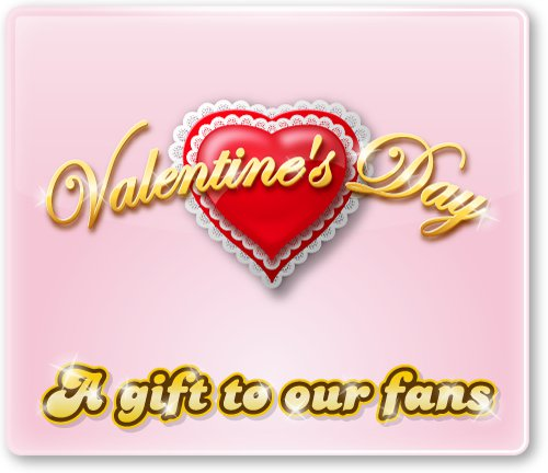 petville v-day gift for fans only