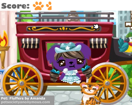 Pet Society Stagecoach