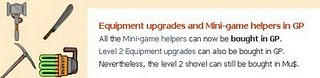 treasure madness equipment upgrades for regular coins