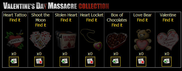 valentine's day massacre collection