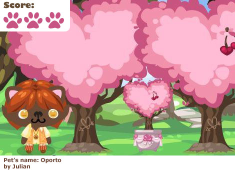 Cherry Blossom Bonsai in Pet Society