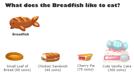 Pet Society Breadfish